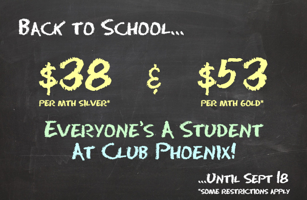 Back 2 School Promotion