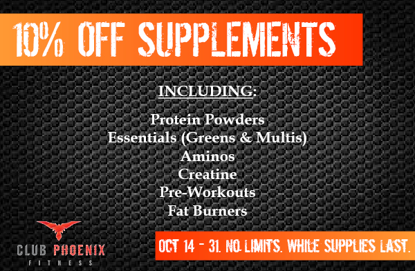 10% Off Supplements